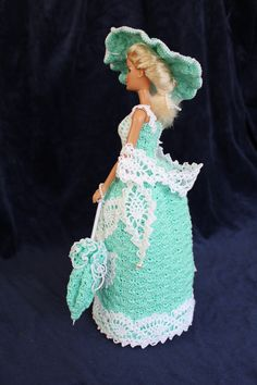 Tati - Watergreen right side  [handmade crochet]