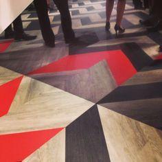 patcraft ,metallix facet shape resilient tile