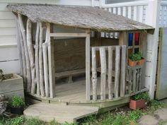 Plac zabaw w ogrodzie - Żelikowska | z fascynacji codziennością