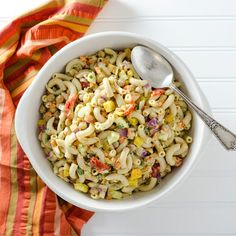 This gluten-free vegan veggie pasta salad recipe offers a pleasing combination of pasta, fresh crunchy vegetables and creamy avocado mustard dressing.