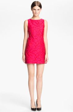 Alice + Olivia 'Marlene' A-Line Dress available at #Nordstrom