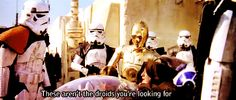 When your parents actually find incriminating substances in your room, and you're trying to tell them they aren't yours. | 22 Star Wars GIFs That Perfectly Describe How Indians Deal With Their...