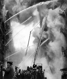 Carl T. Gossett, Five Alarm Fire - 1957