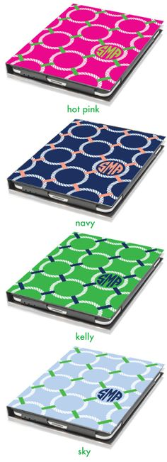 Nautical iPad Cover