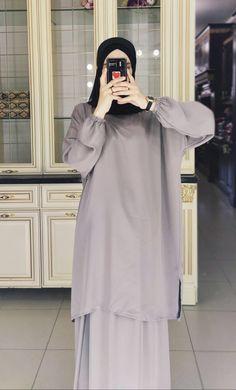 Hijab Style Dress, Modest Fashion Hijab, Fashion Dresses, Stylish Hijab, Casual Hijab Outfit, Hijabs, Muslim Women Fashion, Hijab Fashion Inspiration, Mode Hijab