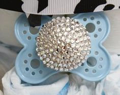 Baby Boy Bling Pacifiers