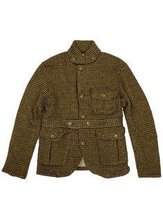 wool chore coat