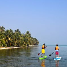 About Belize Stand-Up Paddle Board (SUP) & Belize SUP Experience - Belize Travel Central Reservations
