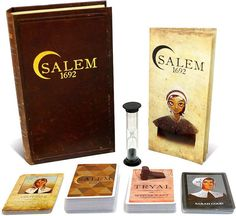 Our favorite educational board games that make history fun for homeschool: Salem 1692