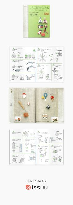 Applique by seasons, holidays, sports ... #Japanese #crochet #book #Asahi #original