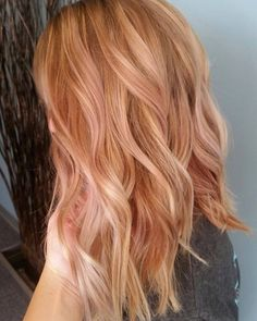 Rose Gold Blonde Hair | POPSUGAR Beauty