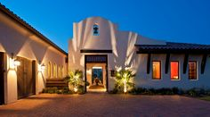 mission court arch spanish bell - Google Search