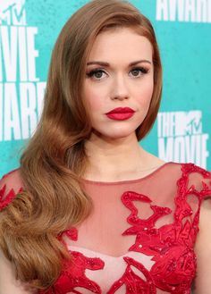 Loving Holland Roden Glamourous  Waves #StyleNoted
