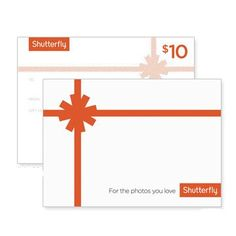 Pin for Later: 13 Gifts For the Paparazzi Mom Shutterfly Gift Card When it comes to paparazzi moms, you can't go wrong with a Shutterfly gift card.