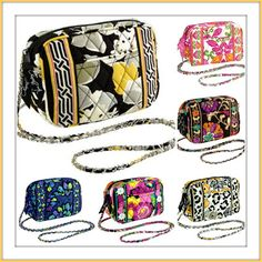 Style, Decor and More!: Vera Bradley's Mini Chain Bag $ale!  http://www.styledecordeals.com/2013/09/vera-bradleys-mini-chain-bag-ale.html