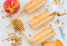 6 πρωτότυπα αλμυρά σνακ για να φάνε τα παιδιά το απόγευμα   Infokids.gr Fruit Recipes, Brunch Recipes, Dessert Recipes, Peach Frozen Yogurt, Peach Puree, Yogurt Popsicles, Yogurt Breakfast, Healthy Fruits, Food And Drink