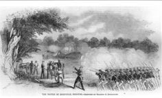Battle of Boonville, MO, 1861. First battle of the Civil War in Missouri. Osterhaus led a battalion in this skirmish.