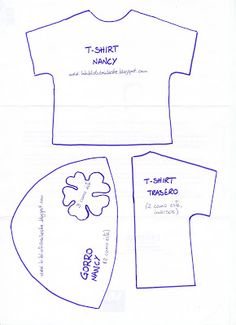 La biblioteca silvestre: Patrón t-shirt y gorro Nancy
