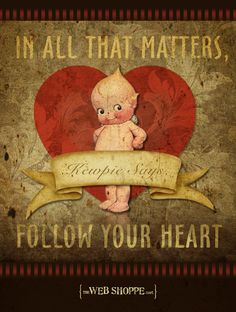 Awww, Kewpie... Happy Valentine's Day everybody!