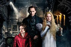 Lead characters of #haunted house movie #CrimsonPeak would appear to have something to hide