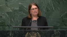 Health Minister Jane Philpott told UN drug treaty talks in New York on Wednesday that Canada's legislation to legalize marijuana will be introduced in spring 2017.