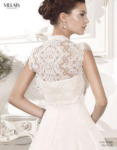 SALLY | Wedding Dress | 2015 Couture Collection | by Sara Villaverde | Villais (close up back)