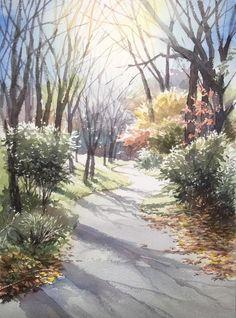 赤坂孝史の水彩画の画像