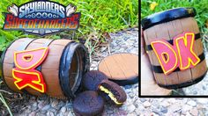 HOW TO MAKE A DONKEY KONG BARREL COOKIE JAR Skylanders Superchargers