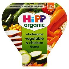Hipp Organic Wholesome Vegetable & Chicken Risotto 12mth+ (230g)