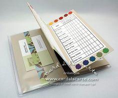 Card à la Carte: Updated Tutorial -- SU Color Inventory Wallet !