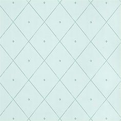 Tudor #wallpaper in #aqua from the Serendipity collection. #Thibaut