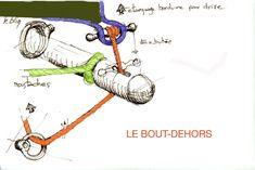 bowsprit rigging.  voiles latines à lunel