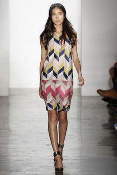 Patchwork snake dress. Peter Som Spring 2013