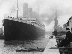 Newly discovered photos explain why the Titanic was backed into its berth at departure — to hide dark marks on the starboard side of the hull from those boarding