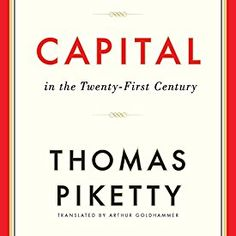 "Another must-listen from my #AudibleApp: ""Capital in the Twenty-First Century"" by Thomas Piketty, narrated by L. J. Ganser."