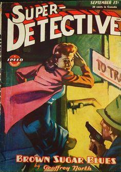 Super Detective, Sep. 1945 - H.J. Ward