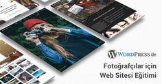 Fotoğrafçılara Özel WordPress Web Sitesi Eğitimi: