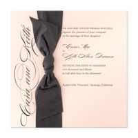 Sash eInvite Wedding Wedding Invitations BRIDES Fine Wedding Papers