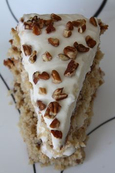 Fuji Apple Spice Cake with Cream Cheese Frosting