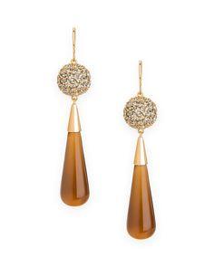 Sandy Shell Earrings - JewelMint