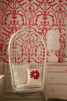 Sweet dreams in this red nursery � Adorable Home