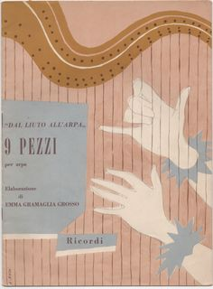 """""""Dal Liuto All'Arpa"""", 9 Pezzi, 1988, Printed in Italy, artist A. Roth?"""