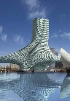 Architecture Portfolio, Futuristic Architecture, Amazing Architecture, Contemporary Architecture, Art And Architecture, Chinese Architecture, Architecture Geometric, Pavilion Architecture, Islamic Architecture