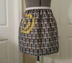 Sherlock wallpaper inspired full skirt made by NerdAlertCreations, $45.00