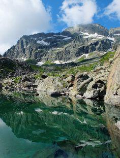 lago verde e Torre d'Ovarda- hiking in 2014  www.trekking-alps.com