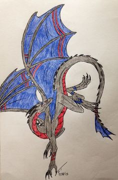 Finished flying dragon @chickidee131440