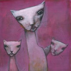 Sophie and her kids - Print