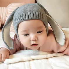 e68b6322590 Name  Nice Rabbit Knitted Baby Hat Baby Age  months Gender  Unisex  Material  Acrylic