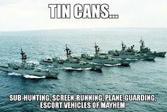 Five ships of the aircraft carrier USS MIDWAY (CV battle group steam… Navy Military, Military Humor, Military Life, Navy Day, Go Navy, Tin Can Sailors, Navy Humor, Navy Coast Guard, Us Navy Ships