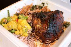 Caribbean Food - Jerk Chicken